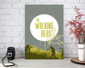 Placas Decorativas The Walking Dead.