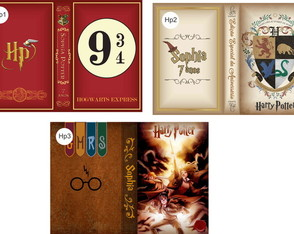 Capas harry potter